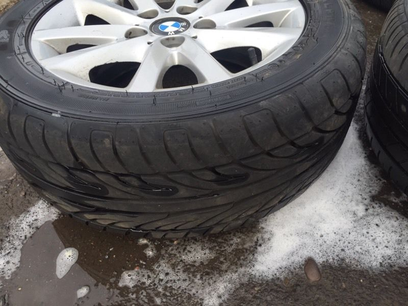 Bmw 3 series alloys and tyres