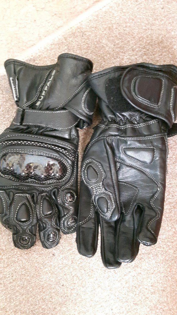 Buffalo biker gloves
