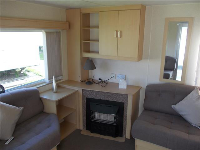Static caravan for sale 2003 at Cresswell Towers, Druridge Bay, Northumberland