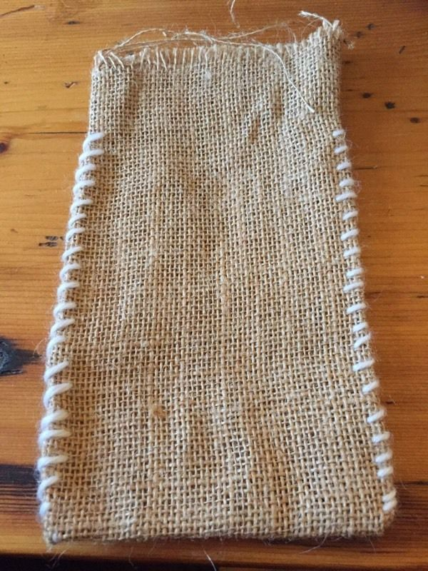 Hessian party favour bags