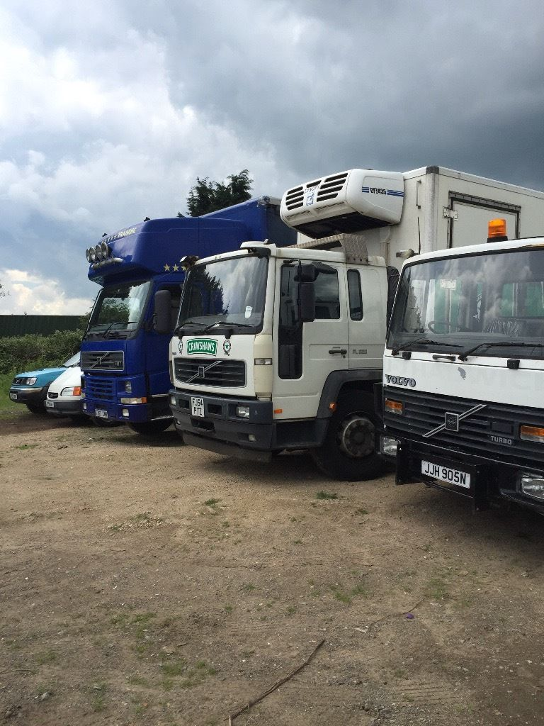 Volvo 18 ton fl6 and fm7 export tipper
