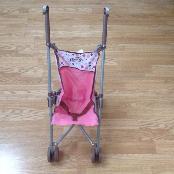 Graco dolls single push chair