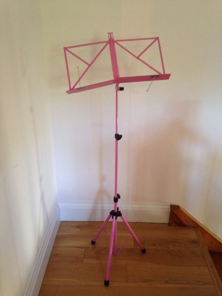 Kinsman adjustable Pink Music Stand, excellent condition