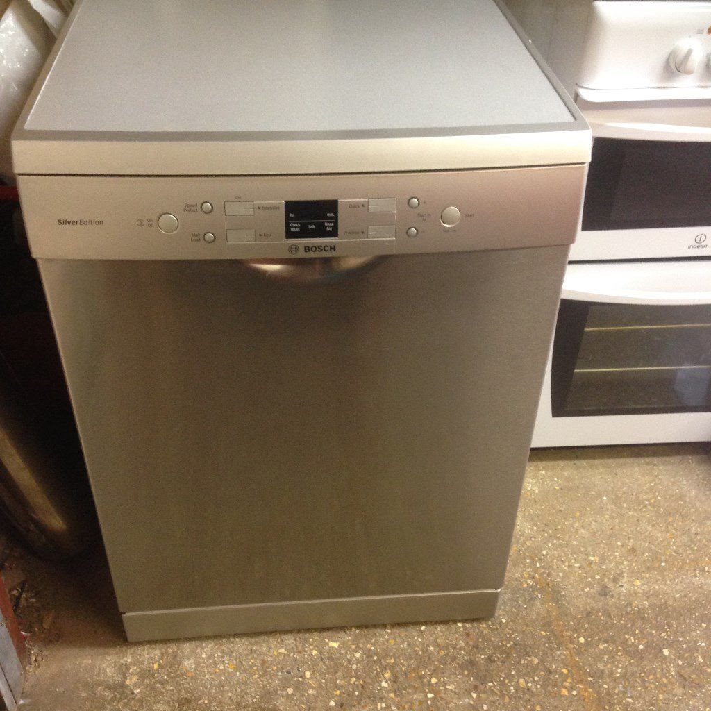 bosch silverline stainless full size dishwasher