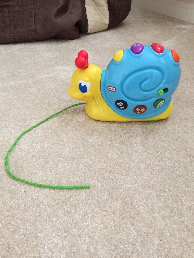 Fisher price pull along snail