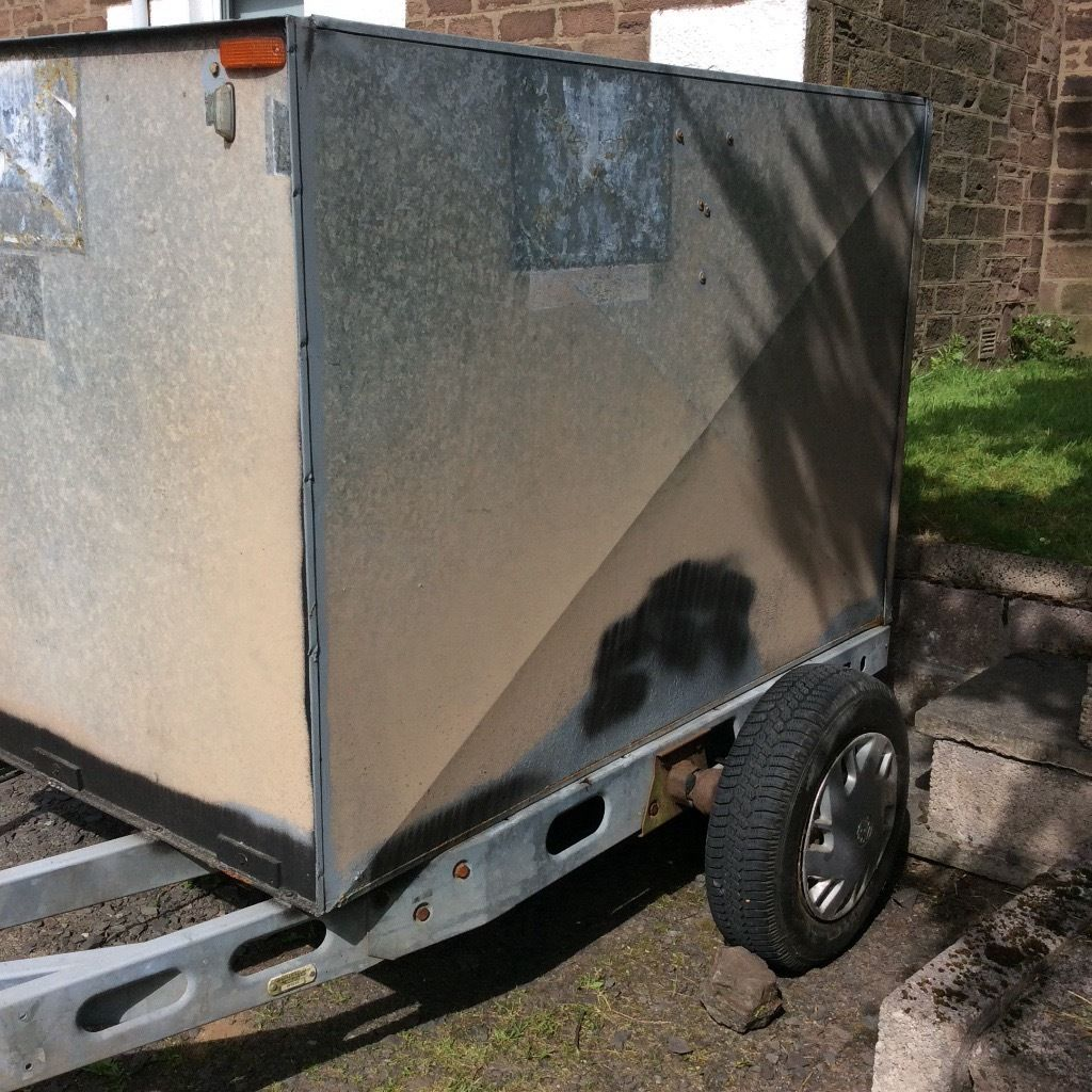 Galvanised Enclosed Trailer