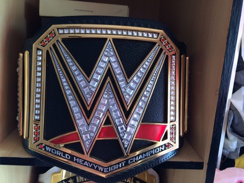 Replica WWE world heavyweight title belt Real