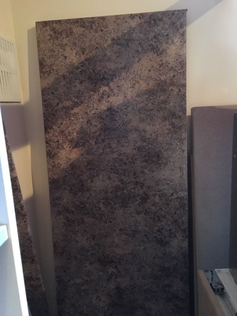 Kitchen worktops - 3 separate pieces for sale