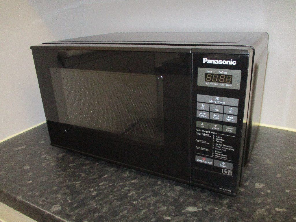 Panasonic NN-E281B Black Microwave 800watt