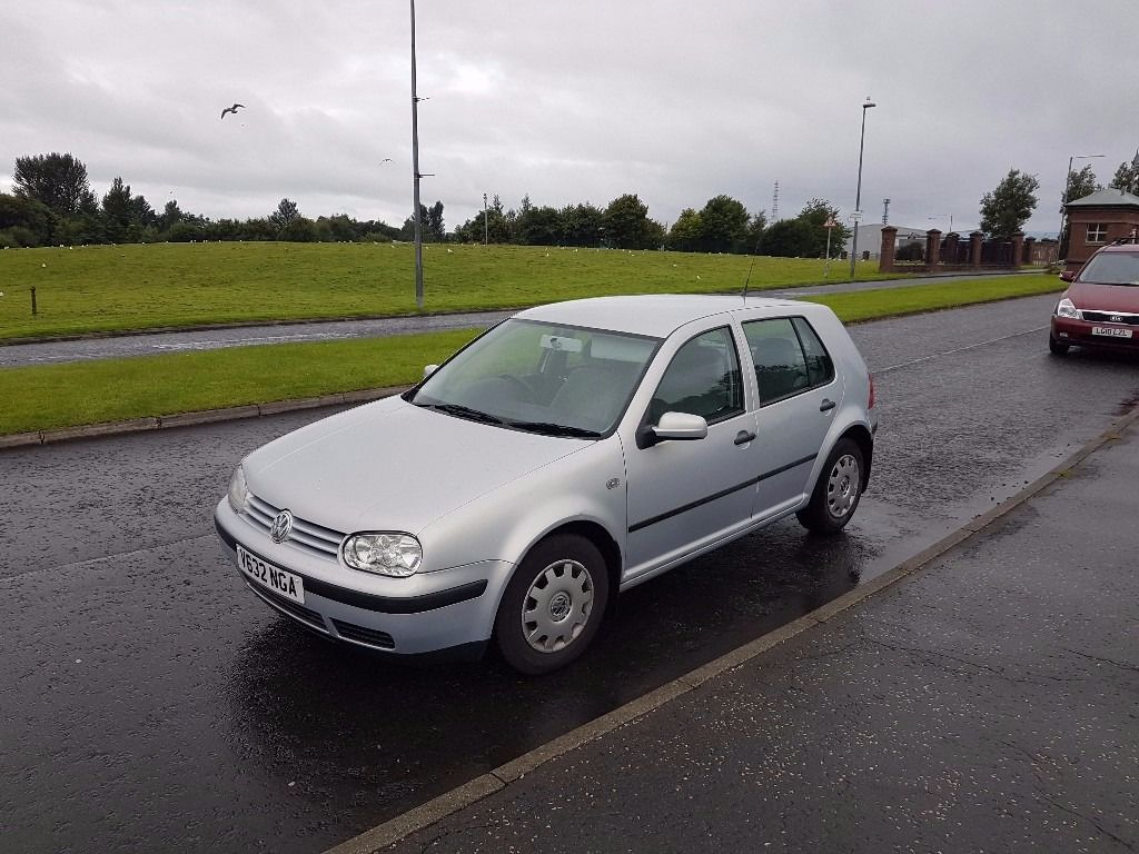 volkswagen golf automatic, 58k miles, fsh, swap why try me