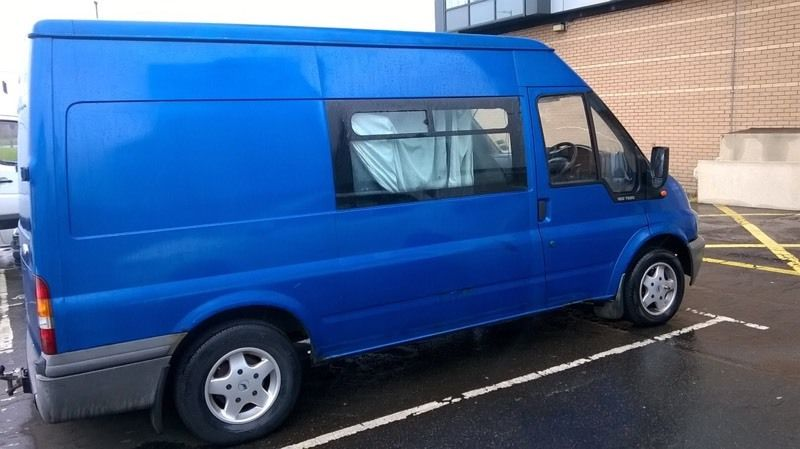 Transit crew cab with bed swap or sell why