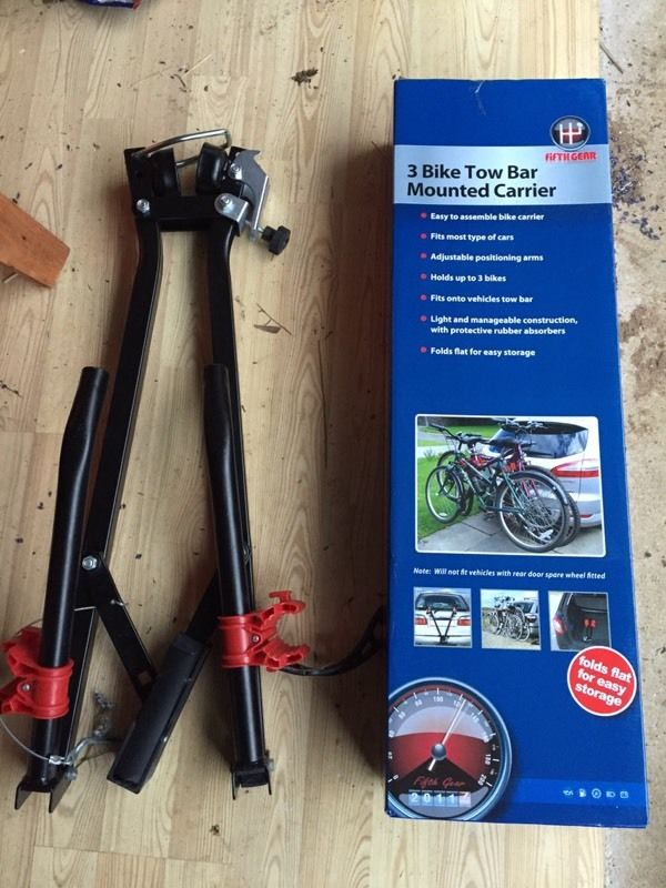 3 Bike carrier for Tow Bar