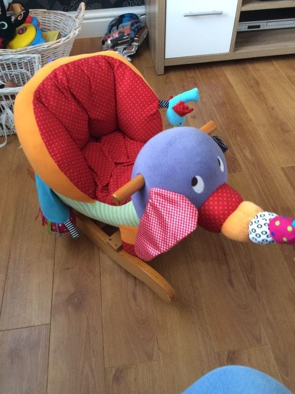 Mamas and papas elephant rocker.