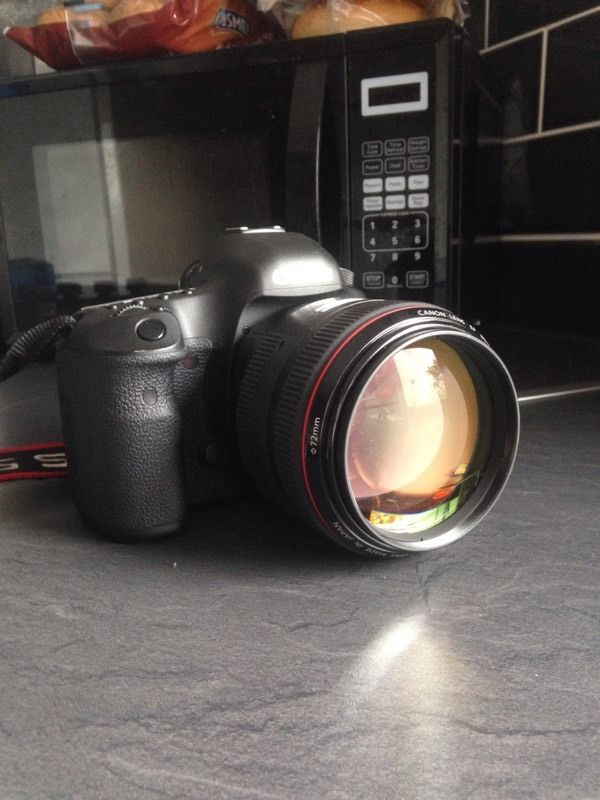 Canon 85 1.2 ii mint condition