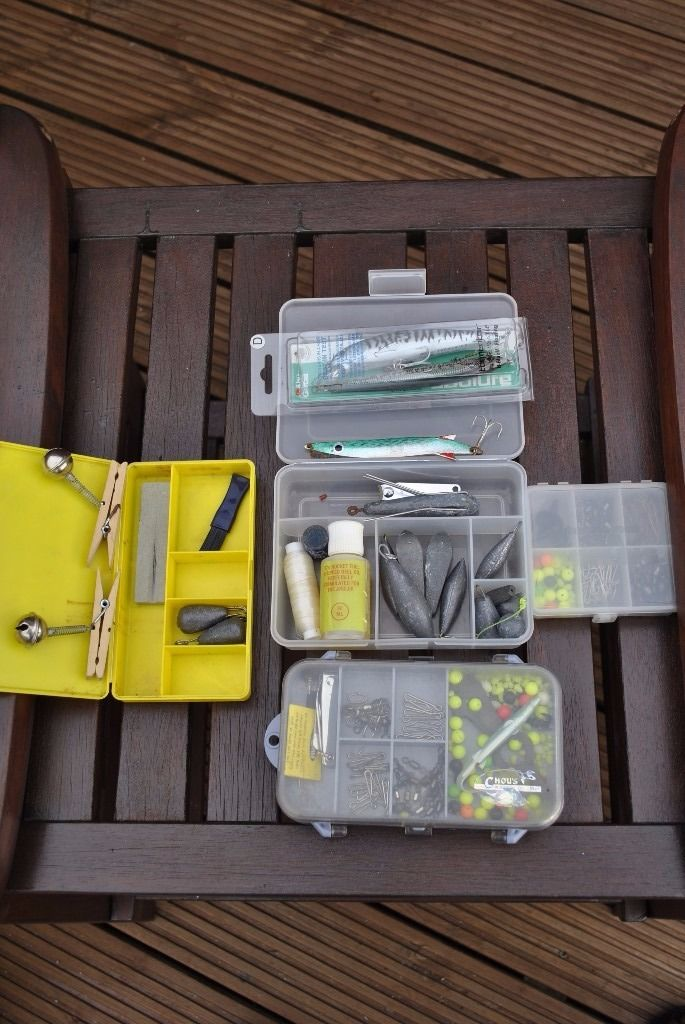 Various Tackle boxes and tackle