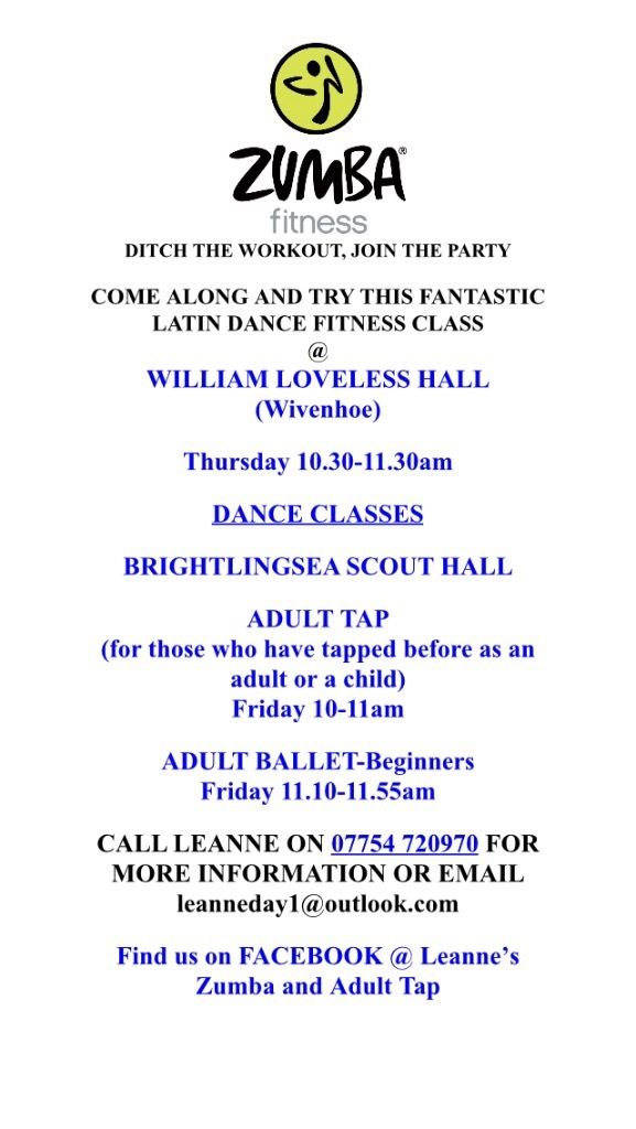 Adult Ballet, Tap and Zumba