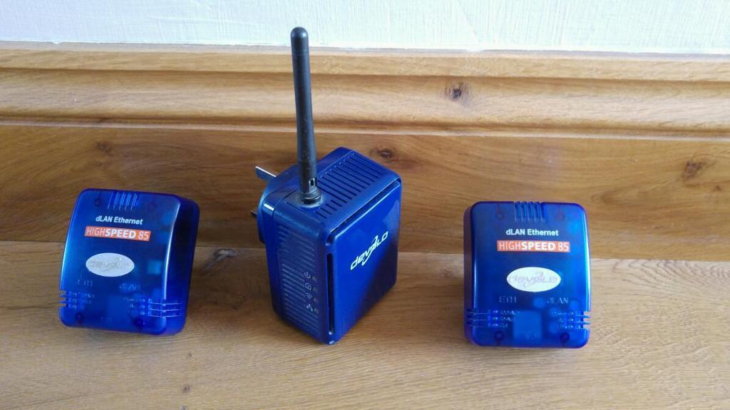 Powerline Internet/Wireless extenders
