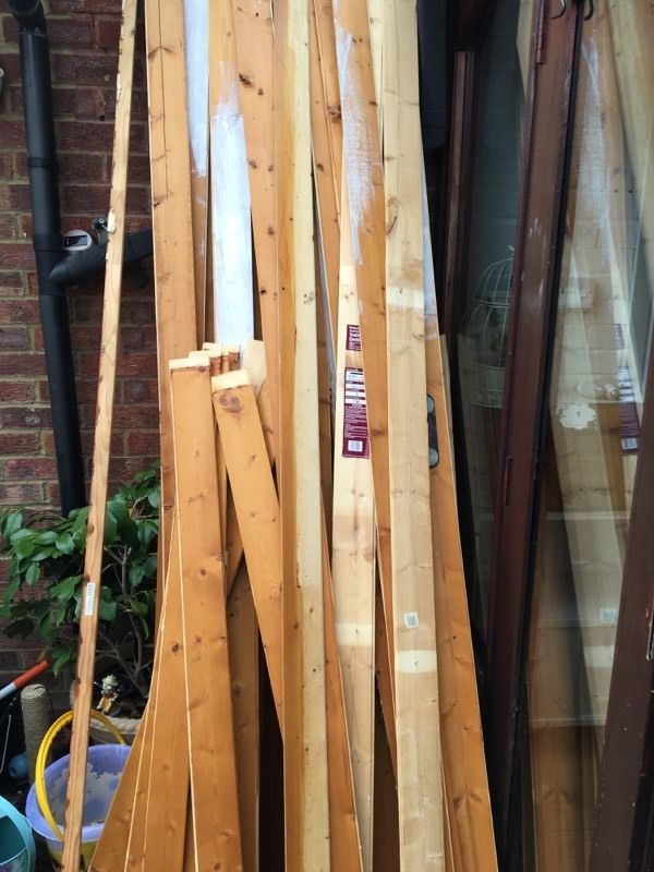 FREE Wickes used cladding different sizes