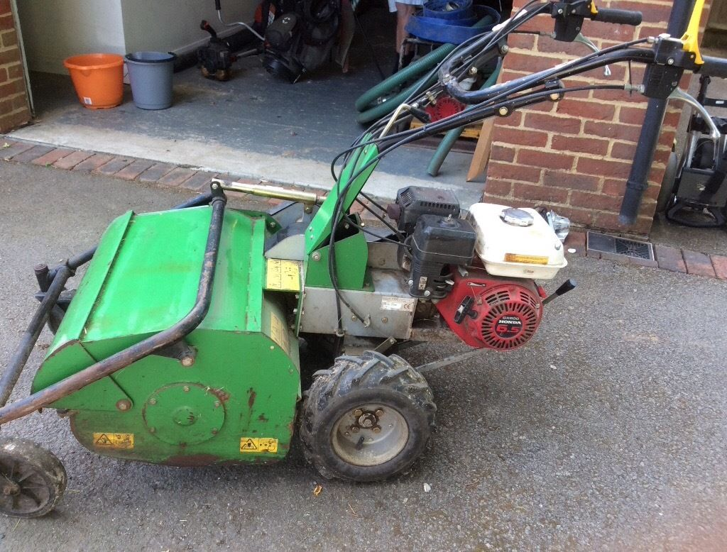 PEDESTRIAN FLAIL MOWER 6.5 ENGINE