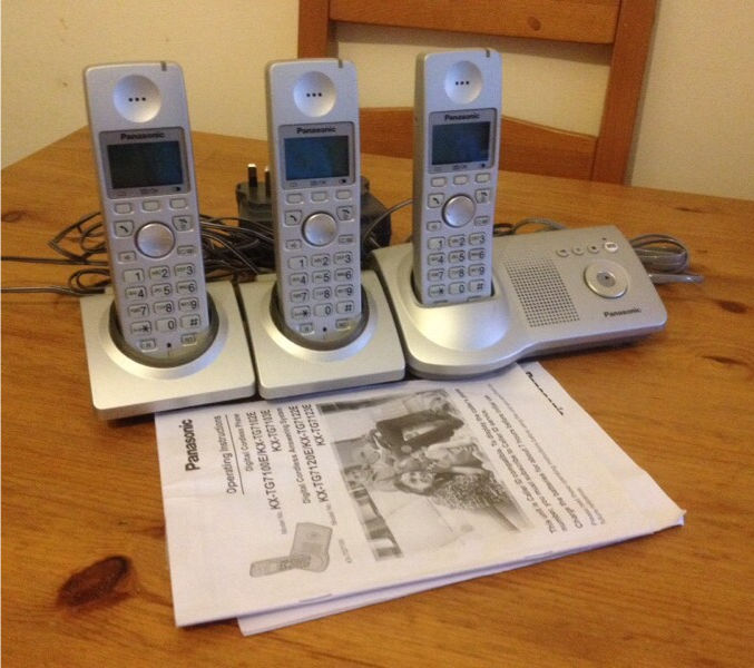 Panasonic Digital Cordless Phone/Answering System