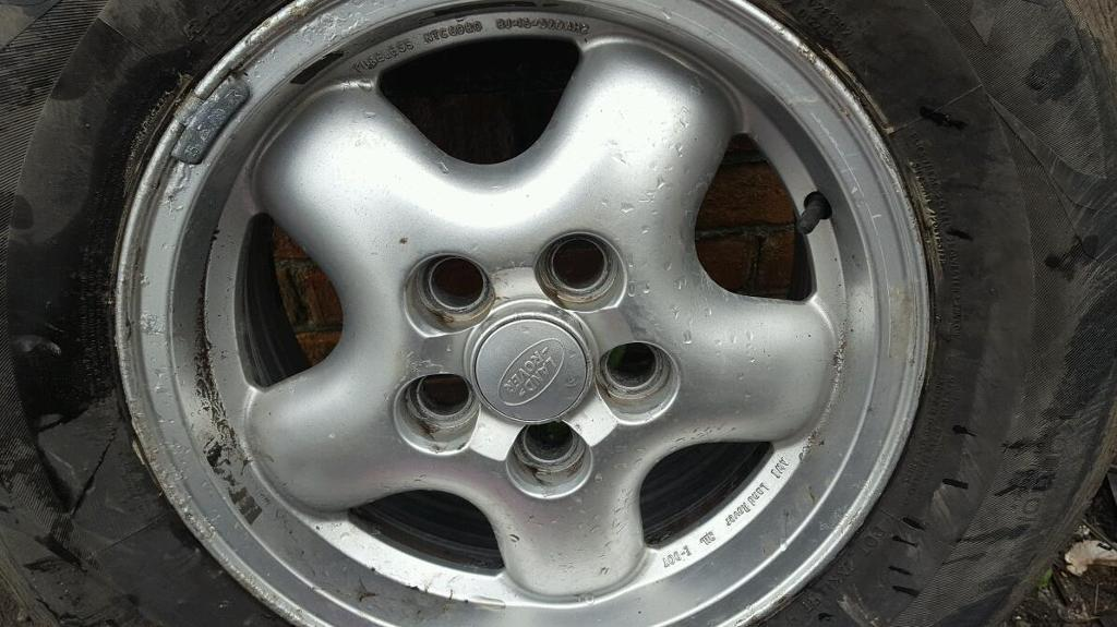 Defender / Discovery alloy wheels