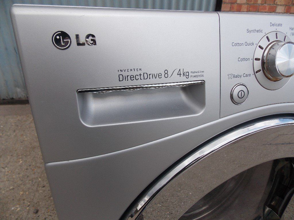 LG washer dryer , refurbished with 6 month warranty , delivery possible
