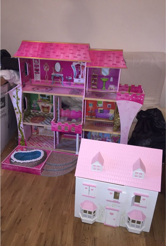 Beautiful and in fantastic condition - two dolls houses for sale