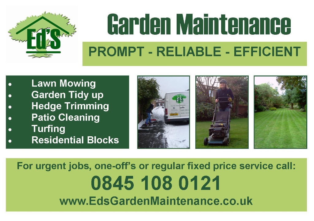Garden Maintenence Business For Sale
