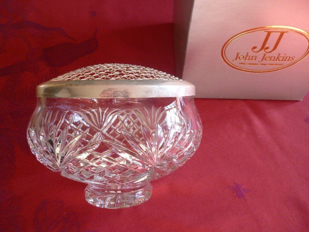 Crystal Rose Bowl