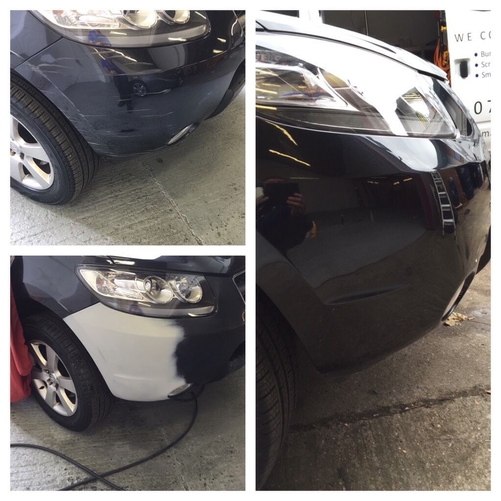 Bumper repair Heathrow area mobile