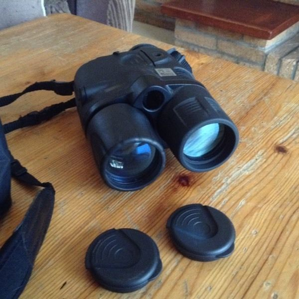 Yukon Advanced Optics military night vision binoculars.