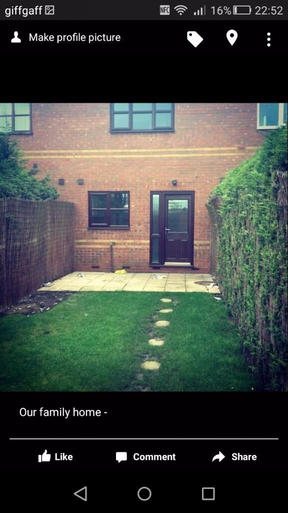 2 bed house in long eaton to swap
