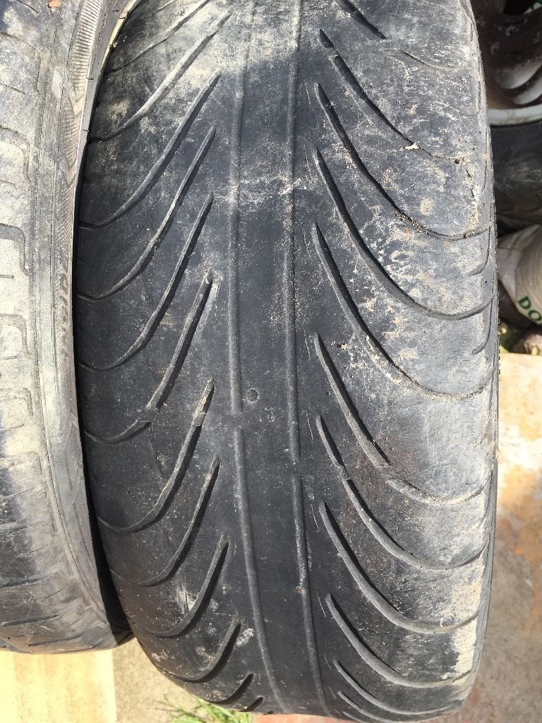 """16"""" Alloys with tyres"""