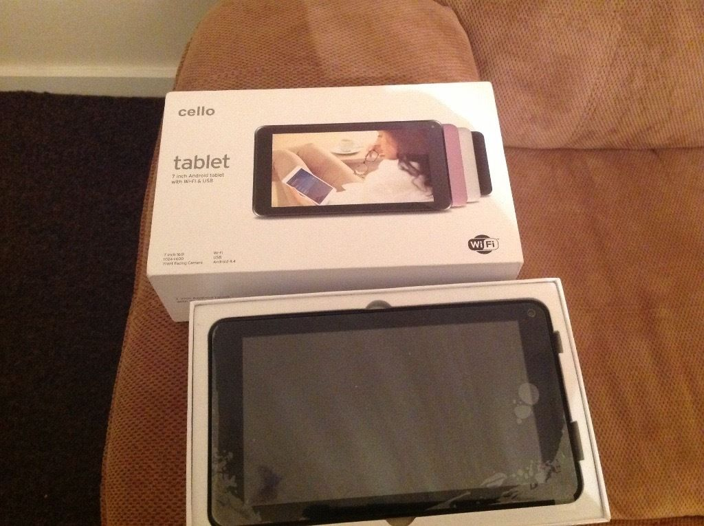 CELLO 7 inch tablet with Wi-Fi & USB