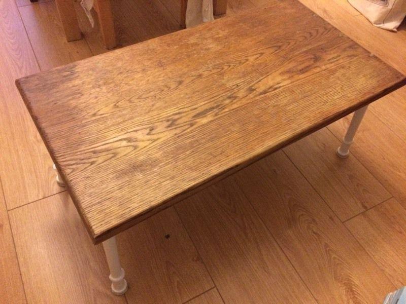 Handmade real wood wooden sitting table Near Kings Cross