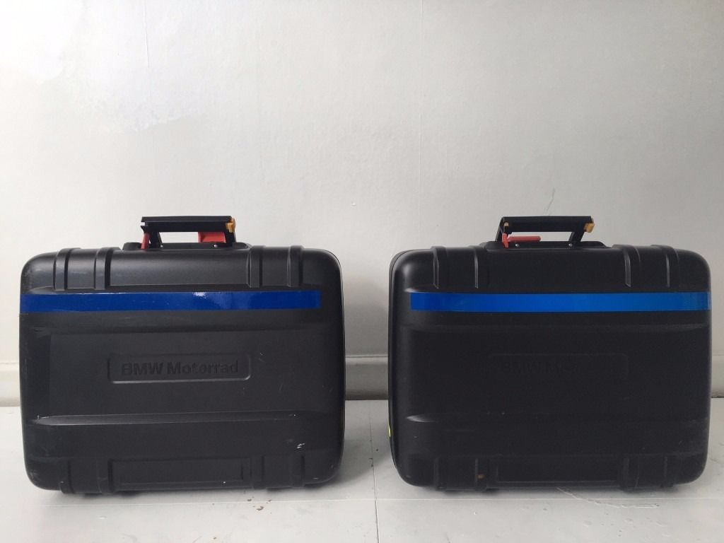 BMW F800GS PANNIERS AND TOP BOX SET
