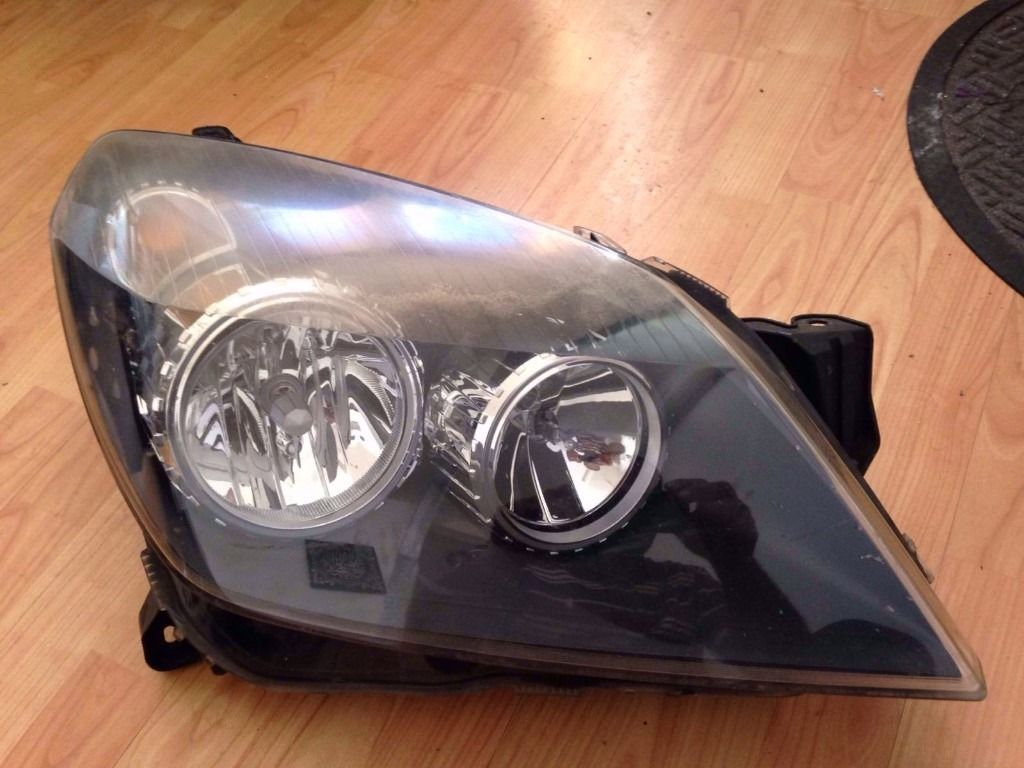 Vauxhall astra front headlights