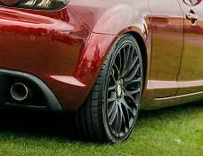 Calibre alloys with khumo sport tyres