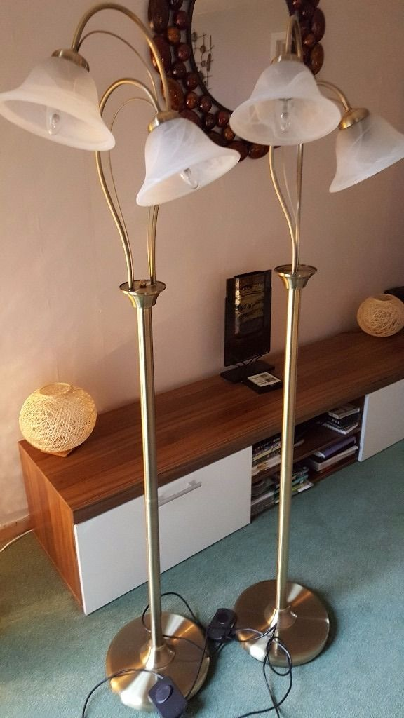 Two Floorlamps for sale.