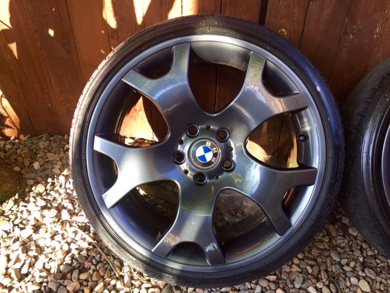 "BMW 19"" Tiger Claw Alloys, Freshly Powder Coated"
