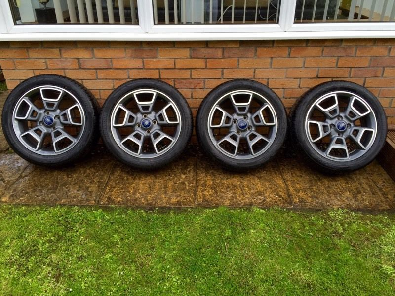 "Ford 17"" Genuine Brand New Alloys & Tyres"