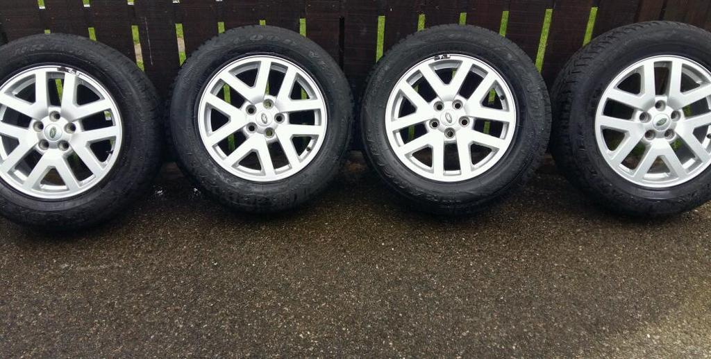 Landrover discovery alloys with tyres