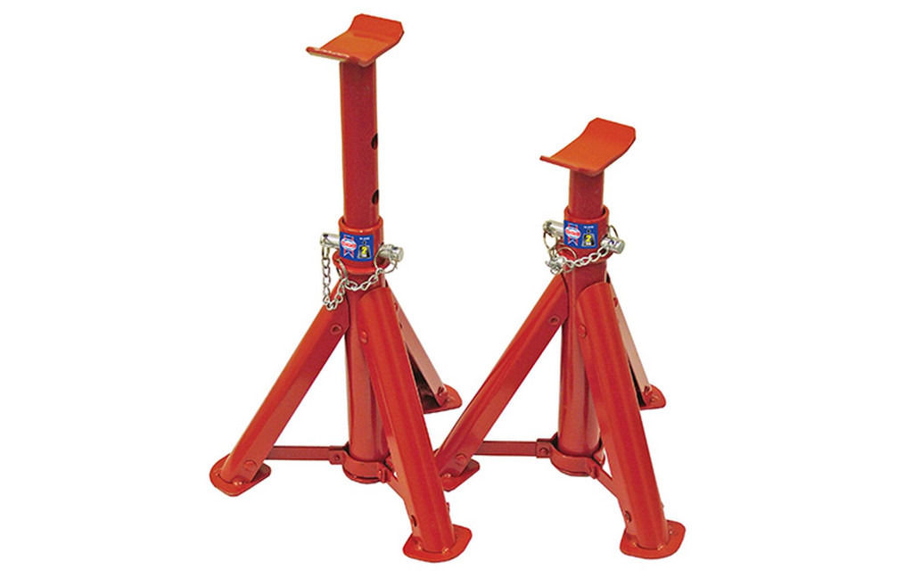 "BRAND NEW ""Big Red"" pair of Axle Stands"