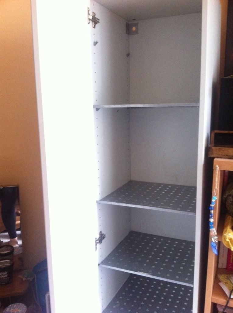 Tall Freestanding Ikea Cupboard