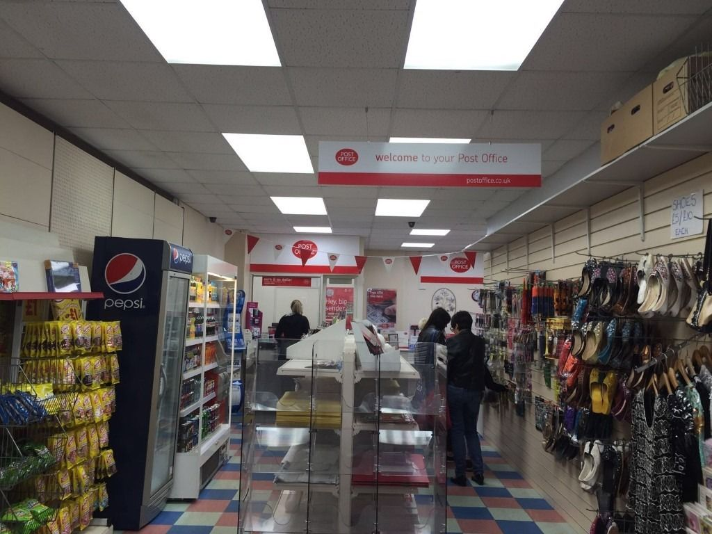 Busy Post Office For Sale in Kilmarnock Town Center With Shop Fitting and Material and Fixture