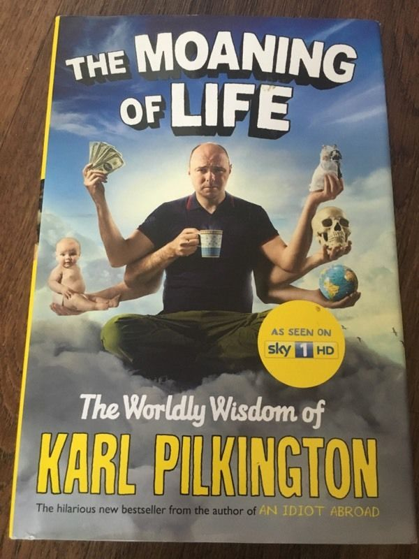 The Moaning Of Life- Karl Pilkington EXCELLENT CONDITION