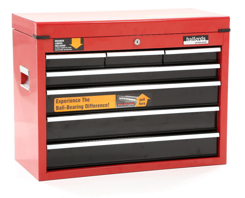Halfords Professional 7 Drawer Toolbox / Tool Chest / Brand New Condition