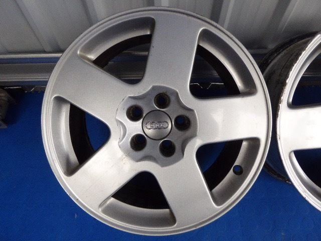 "Genuine Audi 16"" Speedline alloys"