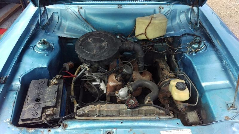 FORD ESCORT 1.3 LHD 1973