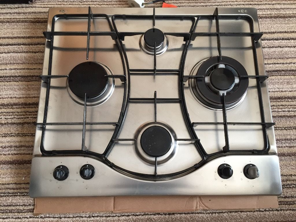 Ariston stainless steel hob